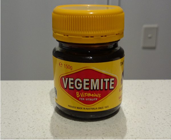 Basic jar of Vegemite